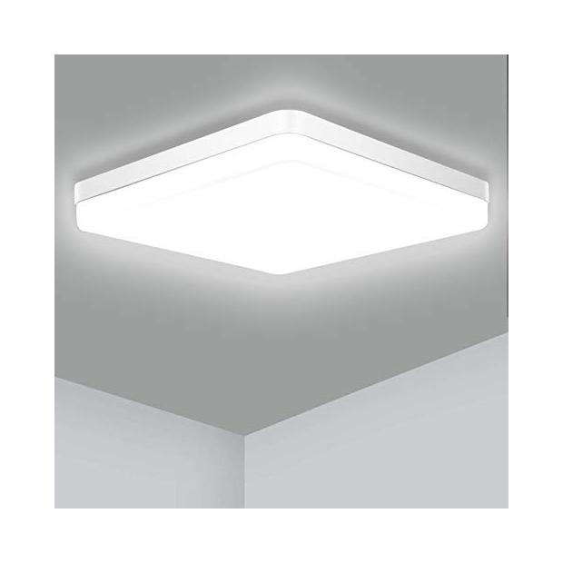 Lámparas de techo rectangulares