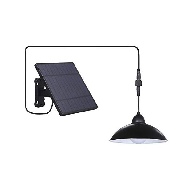 Lámparas de techo solares