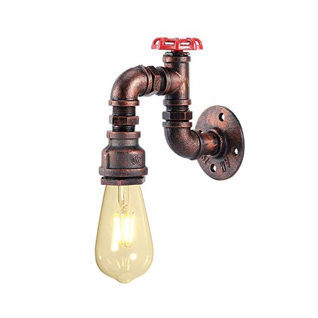 Lámparas de tubo de cobre