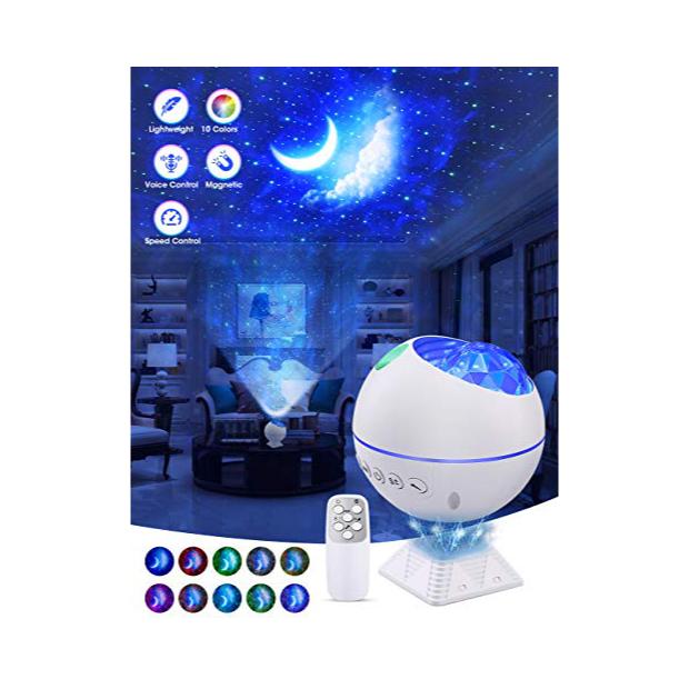 Lámparas infantiles de luna y estrellas