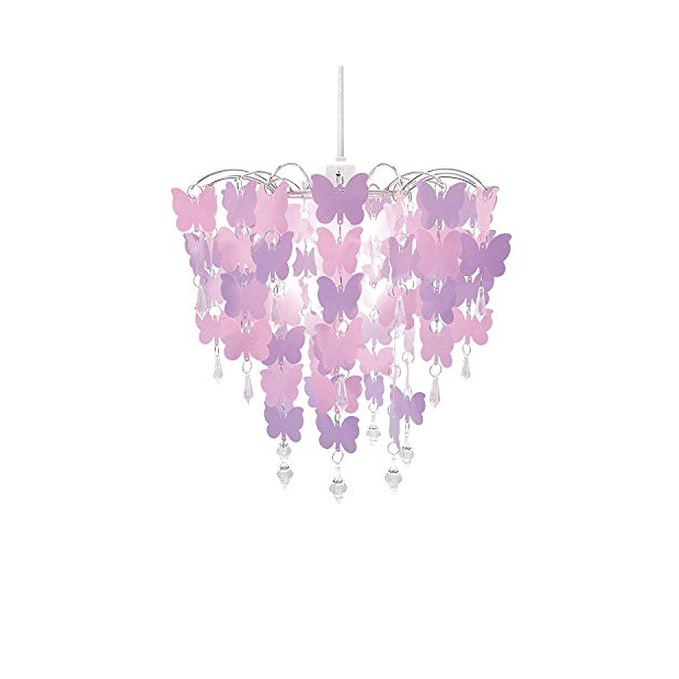 Lámparas infantiles de mariposas