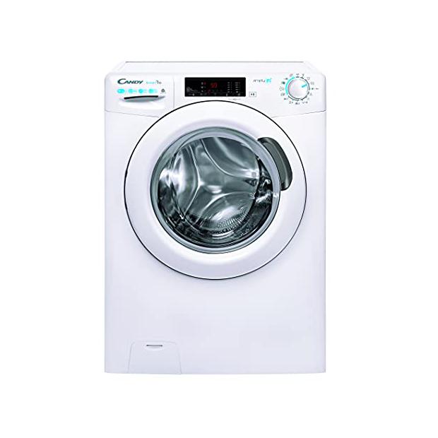 Lavadoras secadoras blancas