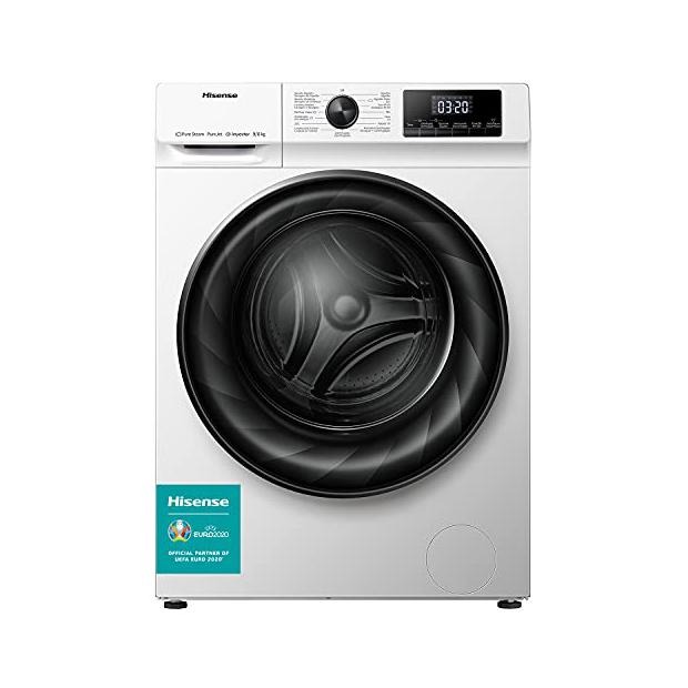 Lavadoras secadoras con motor inverter