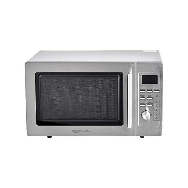 Microondas sin grill digitales de acero inoxidable