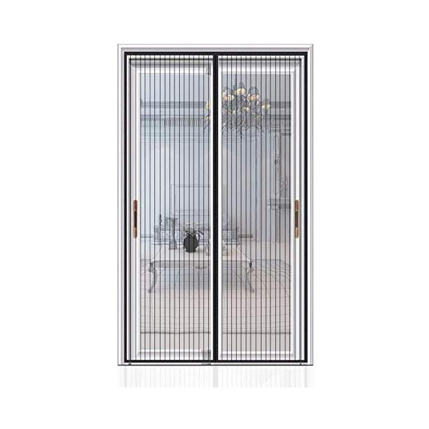 Mosquiteras correderas de aluminio para puerta