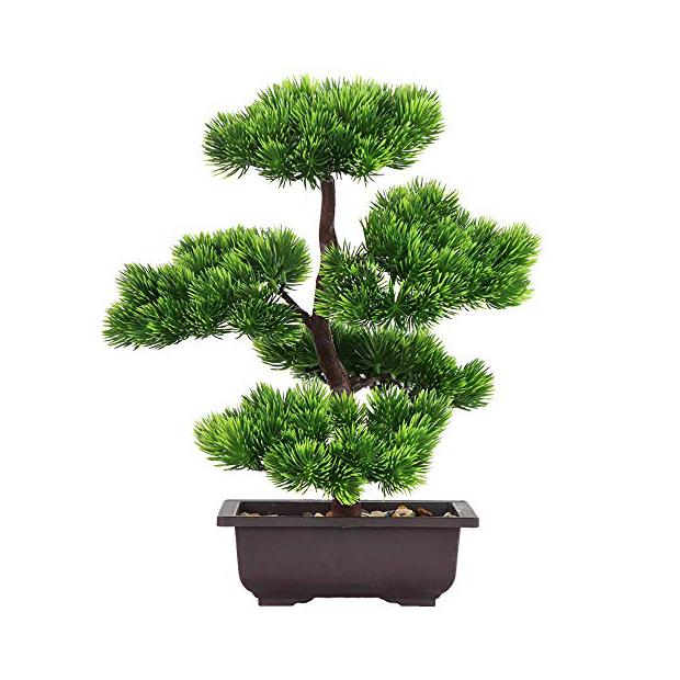 Plantas artificiales bonsai