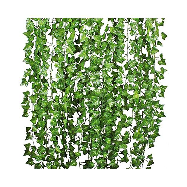 Plantas artificiales colgantes grandes