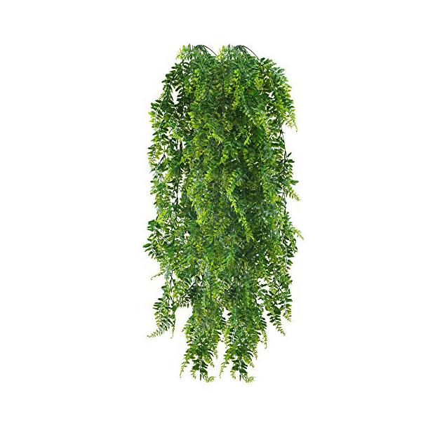 Plantas artificiales colgantes para exterior