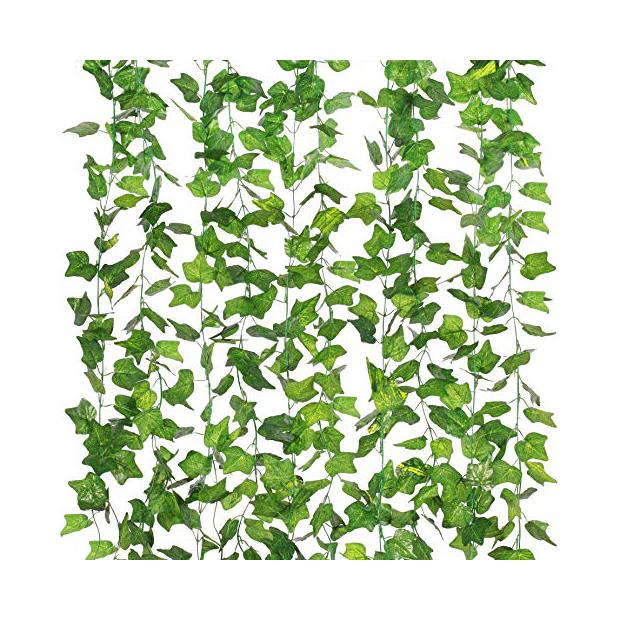Plantas artificiales colgantes