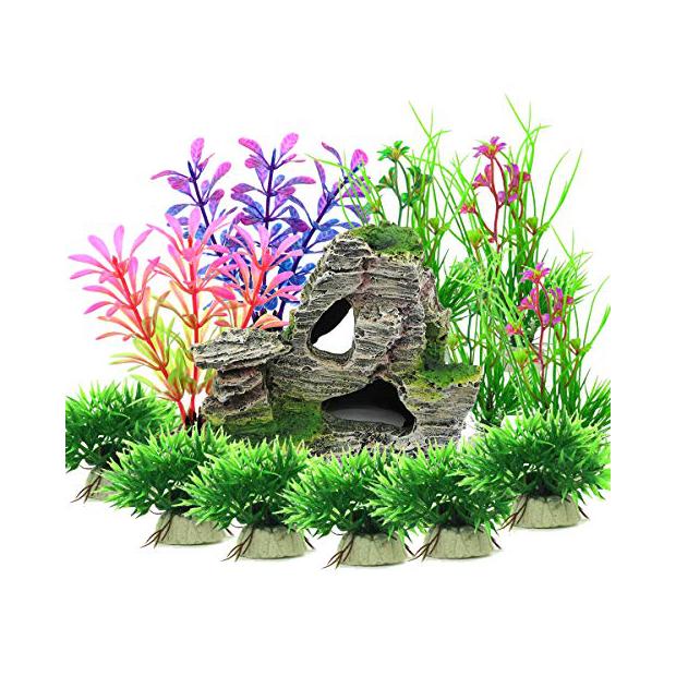Plantas artificiales de acuario