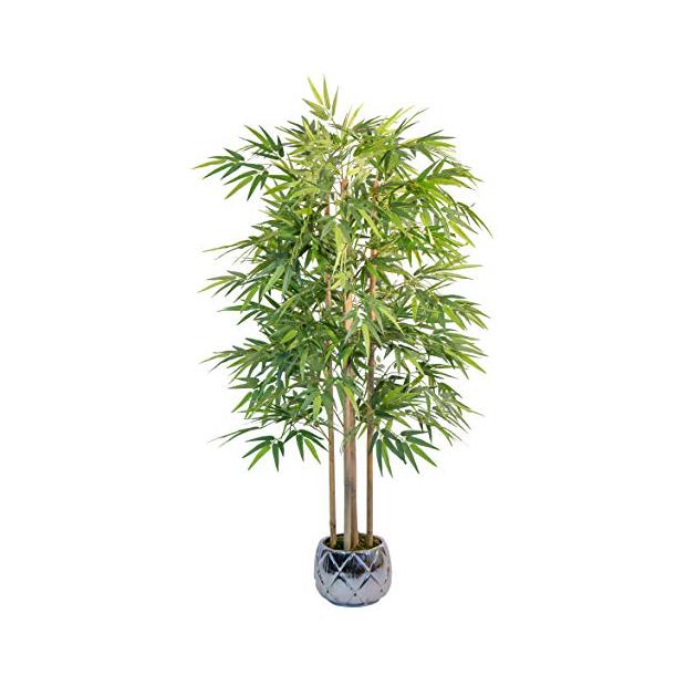 Plantas artificiales de bambú