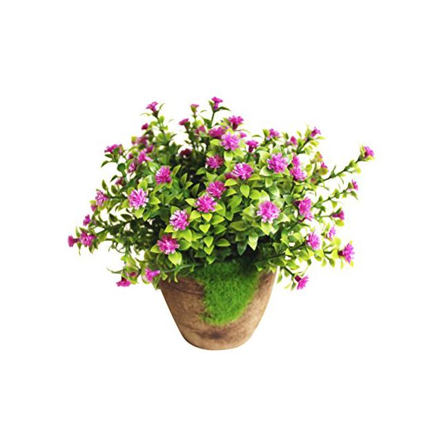 Plantas artificiales de mesa