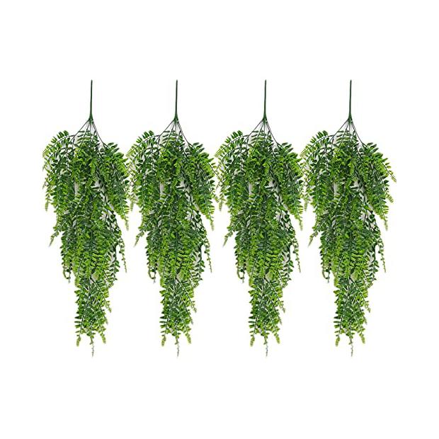 Plantas artificiales de pared