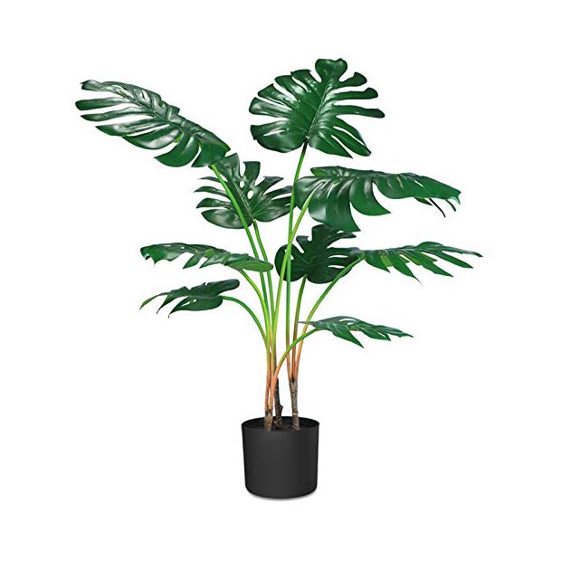 Plantas artificiales grandes para salon