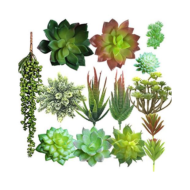 Plantas artificiales para terrario