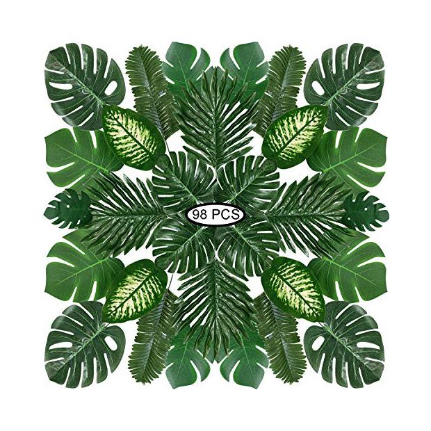 Plantas artificiales tropicales