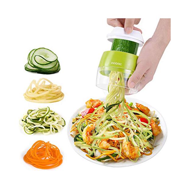 Ralladores calabacin espagueti