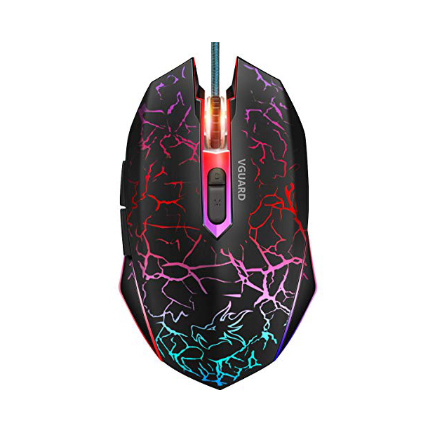 Ratones gaming con luces