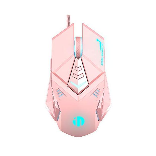 Ratones gaming rosas