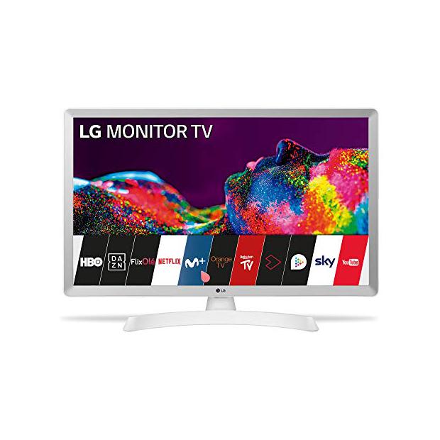 Smart TV 28 pulgadas blancas