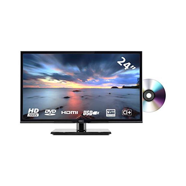 Smart TV con dvd integrado