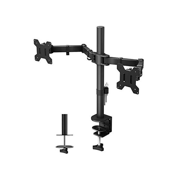 Soportes para monitores dobles con brazo
