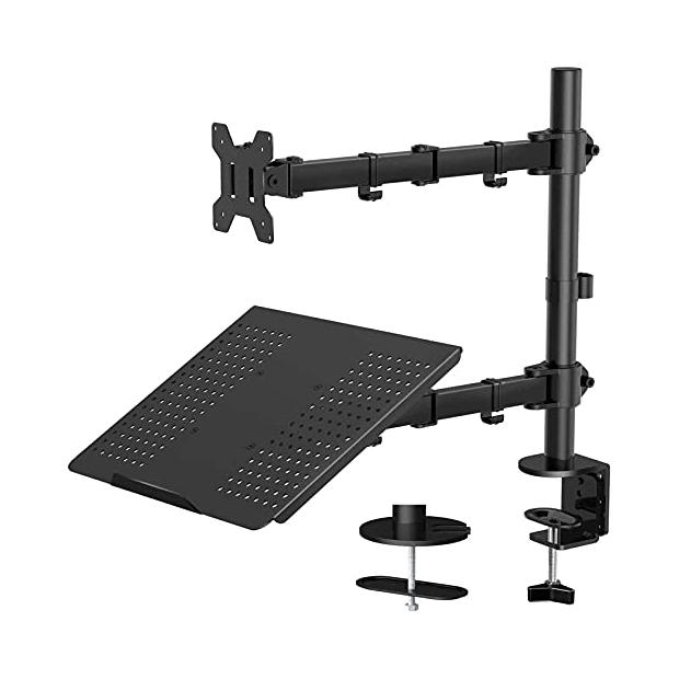 Soportes para monitores dobles y portátiles