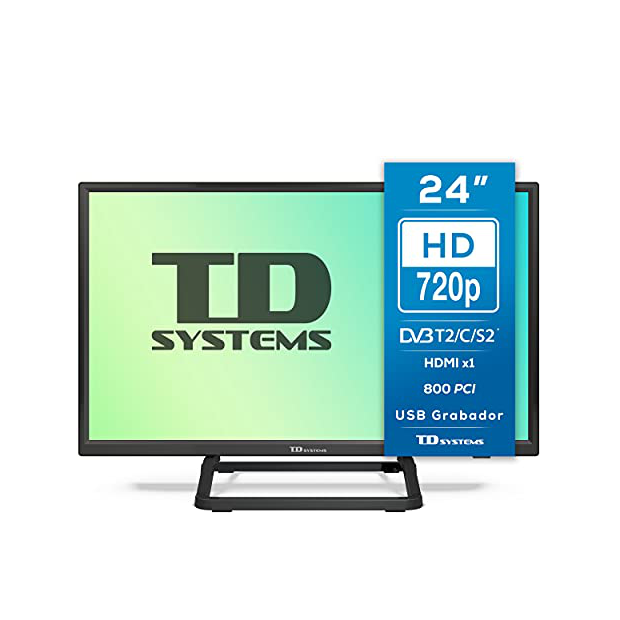 Televisores 24 pulgadas 4k