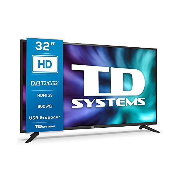 Televisores 32 pulgadas sin smart tv