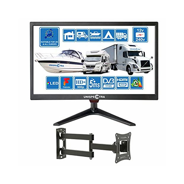 Televisores para autocaravana 12v
