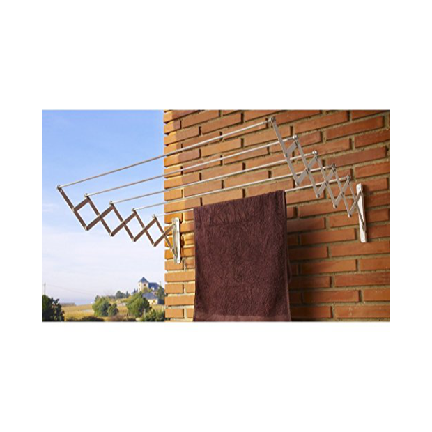 Tendederos de pared 180 cm