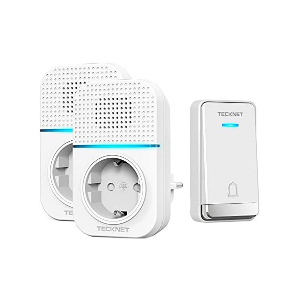 Timbres para casa exterior con audio incorporado