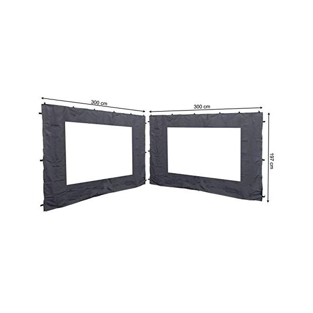 Toldos laterales con ventana