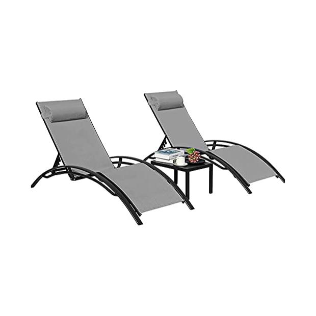 Tumbonas plegables reclinable