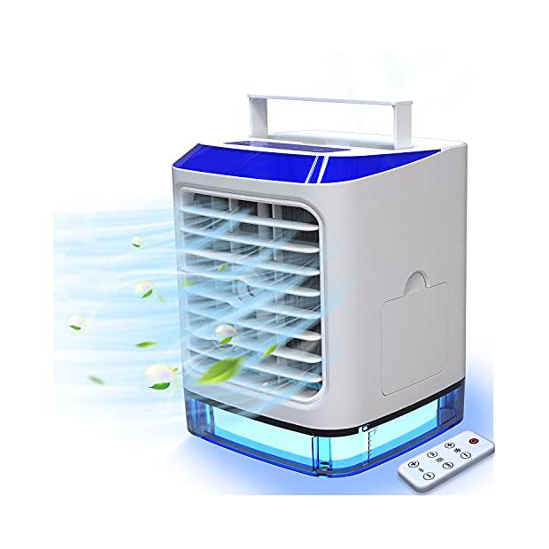 Ventiladores portátiles con hielo