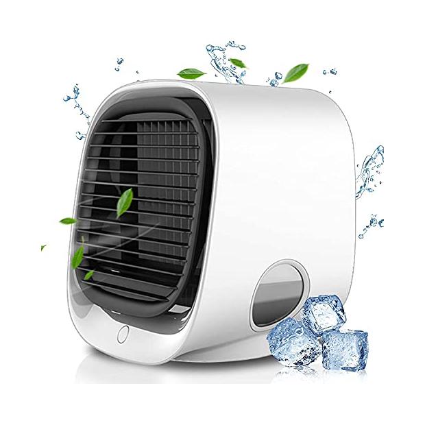 Ventiladores portátiles y aire acondicionado