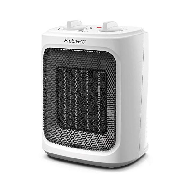 Ventiladores y calefactor