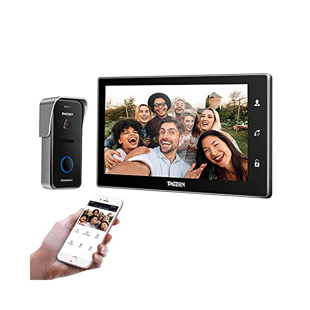 Videoporteros WiFi con 2 monitores