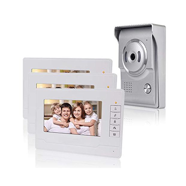 Videoporteros con 3 monitores